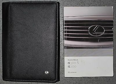 Lexus Is 200 300 Sportcross Mk1 Handbook Owners Manual Wallet 2001-2005 Ref5289
