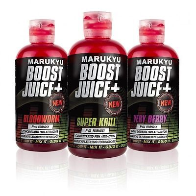 Marukyu Boost Juice+ Pva Friendly Concentrated Fishing Bait Attractant 250Ml