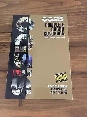 Oasis Complete Chord Songbook Guitar