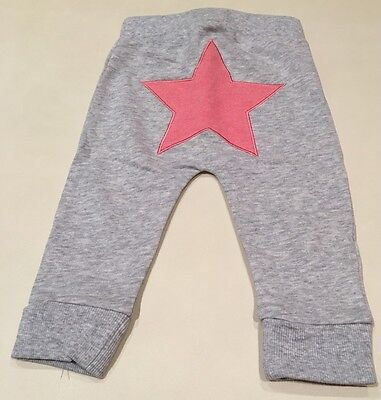 Seed Heritage Pink Star Leggings Size 6-12 Month