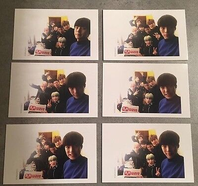 Monsta X Mwave Special Photocards Full Set. Reserved.