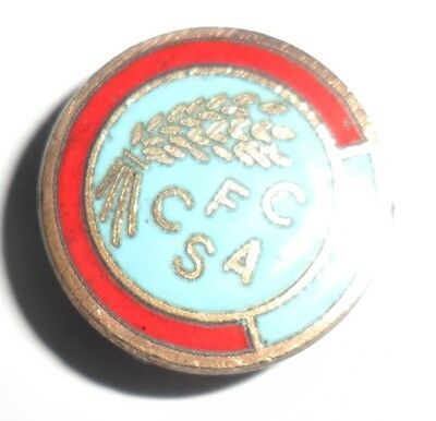 Old  (Mp)  Chester  Football  Supporters  Club  Enamel  Badge