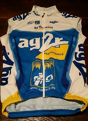 AG2r Cycling gilet vest Size 1 Small