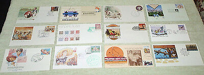 sixth lot. unusual cancels or envelopes - first day covers