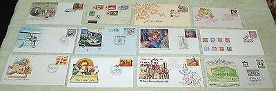 seventh lot. unusual cancels or envelopes - first day covers