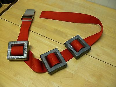 Scuba Diving Belt with 3 weights