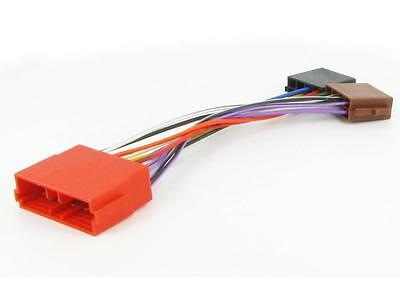 Car Stereo ISO Harness Adapter Wiring CT20PE01 for: Peugeot 605