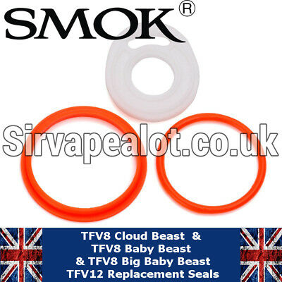 SMOK TFV8 /TFV12/ Big Baby / Baby Beast Replacement Parts Seals O Rings orings