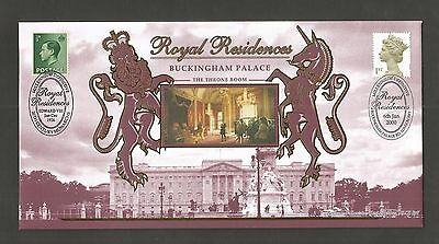 Benham 2000 Royal Residence (Buckingham Palace) Fdc Lot 7T