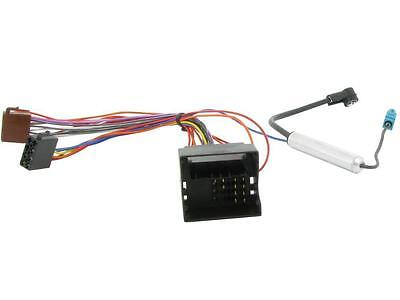 Car Stereo ISO wiring and aerial adaptor CT20PE04 Peugeot 807 04 onwards