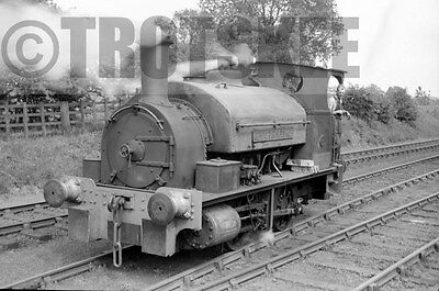 Larger Negative Industrial Steam loco New Cransley Iron & Steel No 3 1960s