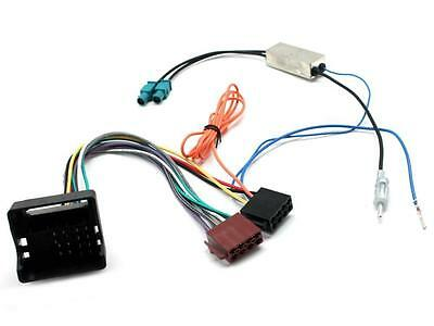 Car Stereo ISO wiring and aerial adaptor CT20CT06 Citroen C4 08 onwards