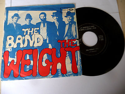 """THE BAND"""" THE WEIGHT-disco 45 giri CAPITOL It 1968"""" RARE"""