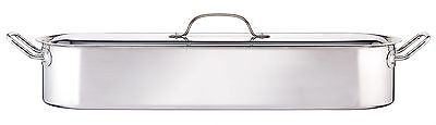 """Kitchen Craft Clearview Stainless Steel Fish Poacher 60cm (24"""")"""