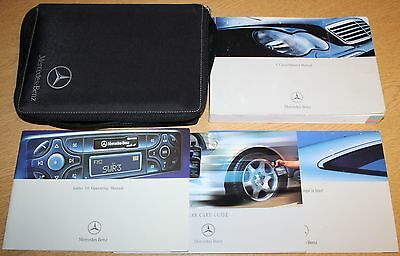 Mercedes C Class Owners Manual Handbook Wallet 2000-2004 Pack 7343 !