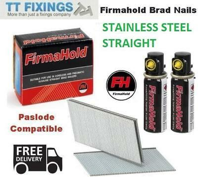 16g Straight Stainless Steel Brad Nails Brads Paslode Compatible IM65