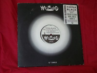 """China Black - Almost See You (Somewhere) 2 Disc Promo Copy - 12"""" Vinyl"""