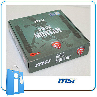 Placa base mATX B150 MSI B150M MORTAR Socket 1151 con Accesorios