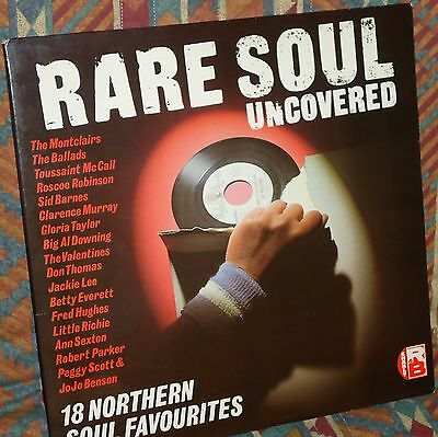 Northern Soul - Rare Soul Uncovered compilation LP