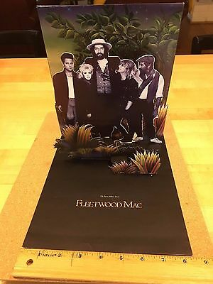 Fleetwood Mac Tango in the Night promotional piece - tabletop stand up