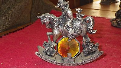 the nursery by a g salcombe  Pewter Figure W.A.P.W UK. 3148
