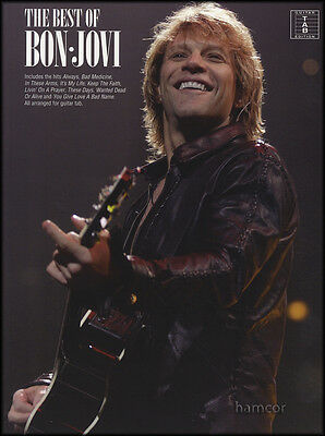 The Best of Bon Jovi Guitar TAB Edition Music Book Richie Sambora