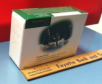 1996 Department 56 Fly-Casting In The Brook Figurine New England Village Series