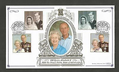 Benham Gold 1997 Queens Golden Wedding Fdc Lot 13T