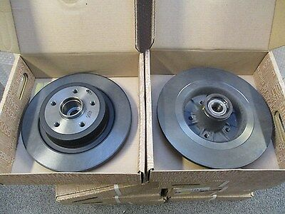 MEGANE SPORT 225 GENUINE REAR BRAKE DISCS x2 8200266043 (Non Drilled)
