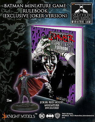 Knight Models Rulebook Alt Cover With Joker Miniature Game New