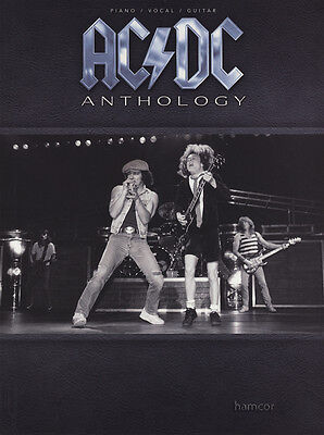 AC/DC Anthology Piano Vocal Guitar Sheet Music Book Best of Greatest Hits
