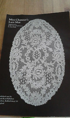 NEW Bobbin Lace template pricking for Lace Mat