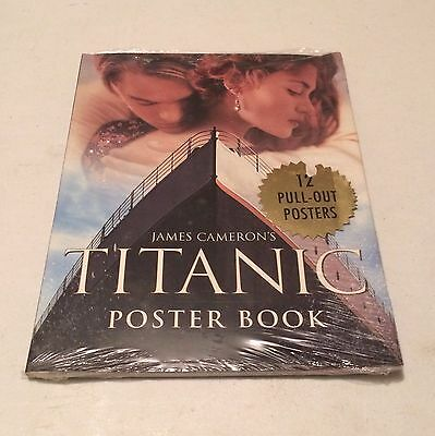 Titanic Picture Book James Cameron 12 Pull Out Posters ~ Factory Sealed