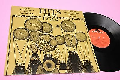 The Baroque Jazz Ensemble Lp From 1722 Orig Germany '60 Ex !!!