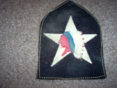 WWI US  Marine 2nd Infantry Division Patch  AEF