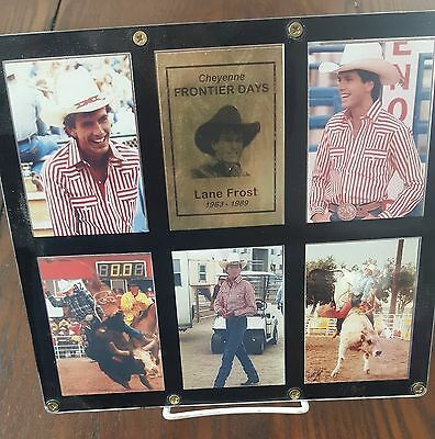 Lane Frost / Cheyenne Frontier Days Rodeo Plaque