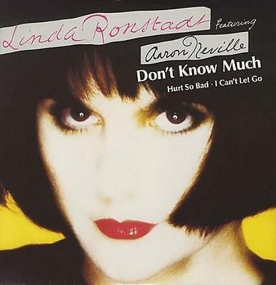 "Don't Know Much Linda Ronstadt UK 12"" vinyl single record (Maxi) EKR101T"