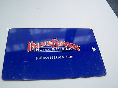 Hotel Room Key, Card, Casino, Las Vegas, Palace Station, Topographical, Souvenir