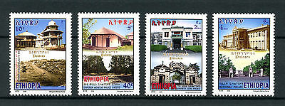 Ethiopia 2015 MNH Palaces 4v Set Buildings Architecture Stamps
