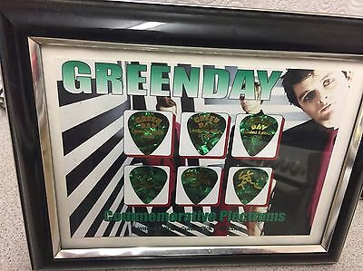 Limited Edition Green Day Picture And Limited Edition Picture And Plectrums