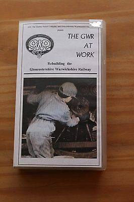 The Gwr At Work Rebuilding The Gloucestershire Warickshire Railway Vhs Video