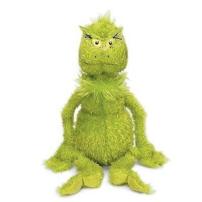 "Dr Seuss Grinch 10"" Plush Toy How the Grinch Stole Christmas"