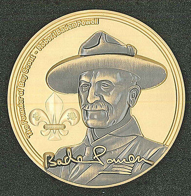 2016 Scouts Of Hong Kong - Hk Scout 105Th Anniv Jamboree Baden Powell Medallion