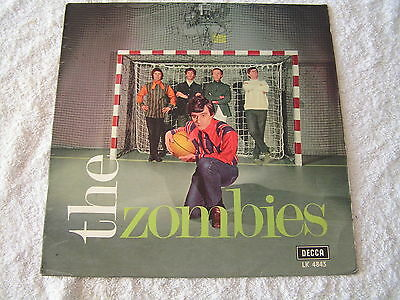 The Zombies ‎– The Zombies -  Mono Swedish Export- complete- Excellent - listen