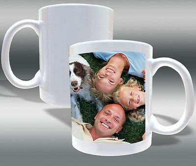 Sublimation Ceramic Mugs 11oz Grade A Bright White Mug Blanks