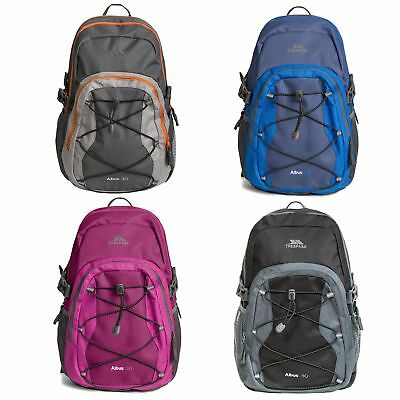 Trespass Albus Camping Hiking Backpack Cycling Travel Rucksack Bag 30 Litre