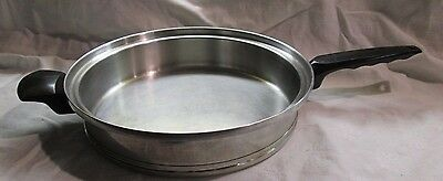 """Lifetime T304 CC Stainless Steel 11"""" Skillet USA Life Time West Bend"""