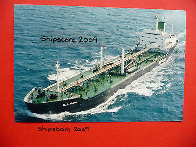 W A MATHER of 1973 - Canadian Pacific - tanker - SHIP PHOTOGRAPH