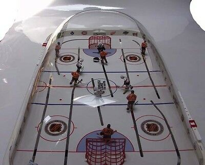 New CHICAGO BLACKHAWKS Bubble DOME Table HOCKEY Game STIGA 3 Hand-Painted Teams