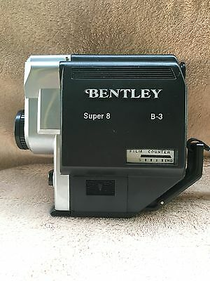 Vintage Bentley B-3 Super 8 Movie Camera-Excellent Condition (Not tested)